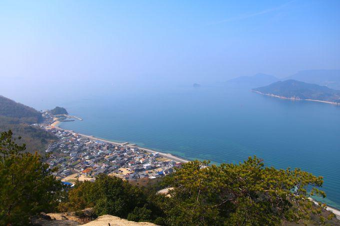 小豆島西部の展望&パワースポット「重岩」