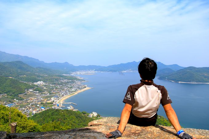 小豆島が誇る絶景の低山「飯神山」
