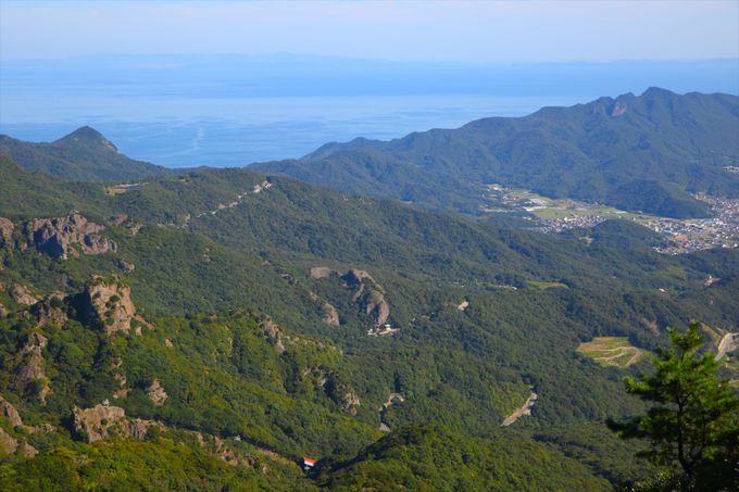 日本三大渓谷美を悠然と眺める「寒霞渓第一展望台」