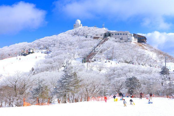 御在所ロープウェイを使って冬山にアクセス!