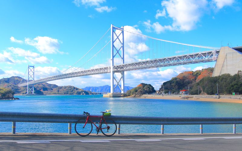 絶景とグルメを満喫!憧れの「しまなみ海道」をレンタサイクルで