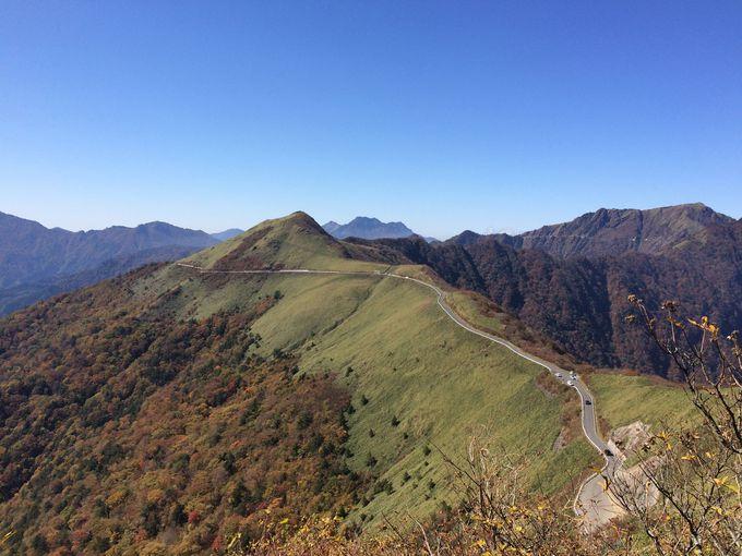大自然の世界へワープさせてくれる西日本最高峰の「UFOライン」