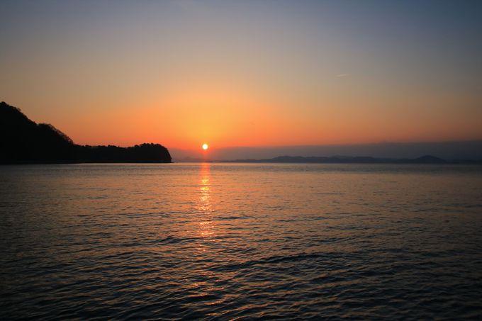島旅で最高に贅沢な時間を!心洗われる夜景と朝日