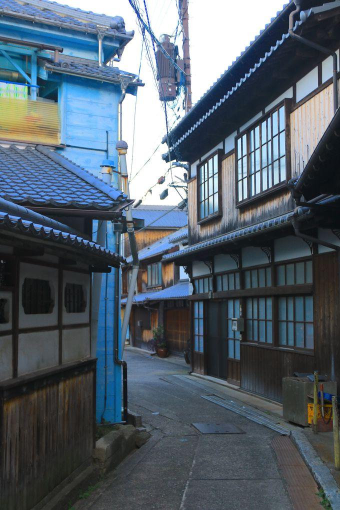 江戸時代から続く!潮待ちの港「御手洗の町」の風情ある景色