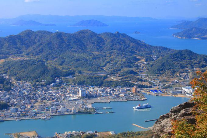 小豆島の地元民だけが知る「皇踏山」!そのアクセスと登山道は?