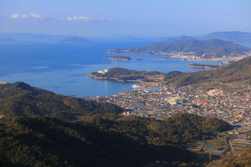 マイナーかつアクセス難だが、小豆島好きなら一度は見たい景色