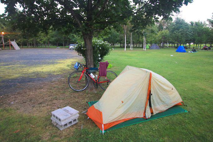 洞爺湖の「財田キャンプ場」へ!テント泊で癒しのひとときを
