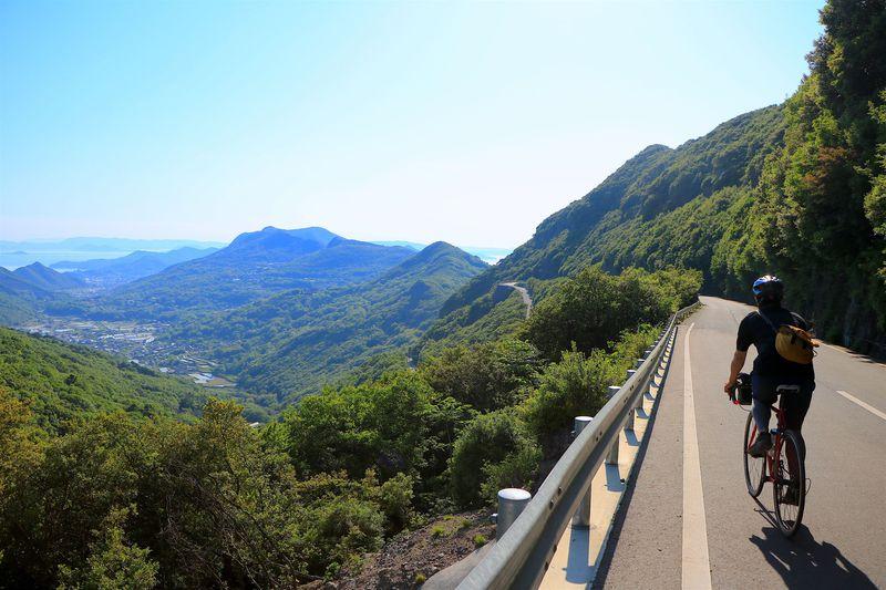 小豆島スカイラインから始まる渓谷美