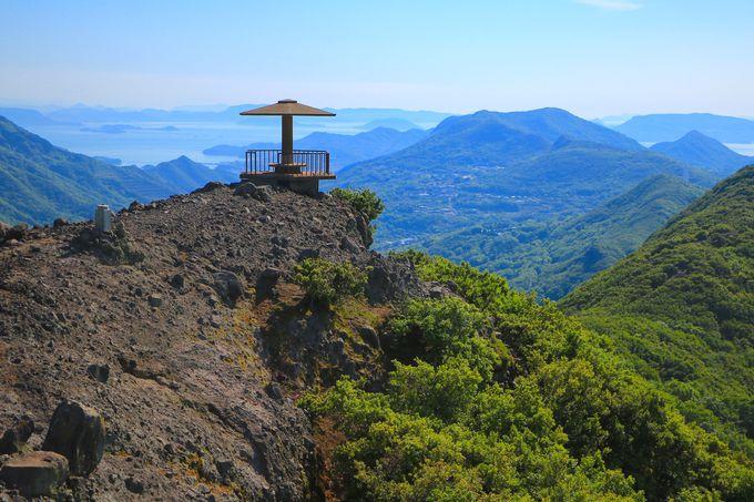 「おさるの国」の頂上に立つ!絶景の「仙多公峰展望台」
