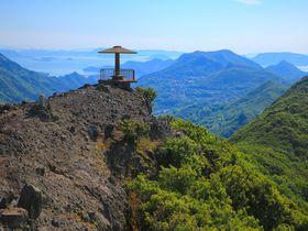 お猿たちの癒しも!大渓谷広がる小豆島「仙多公峰」が絶景すぎる