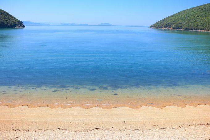 透き通った瀬戸内の海が広がる三都半島