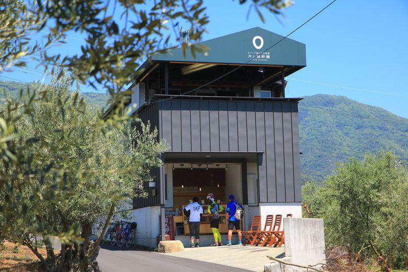 オリーブ畑の中に佇むお洒落カフェ!「菊太郎」で堪能する小豆島