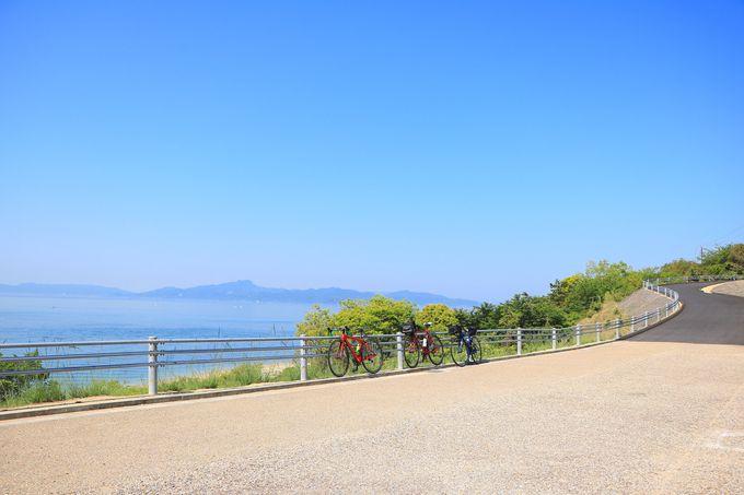 小豆島で一番美しいエリアと言っても過言ではない「三都半島」