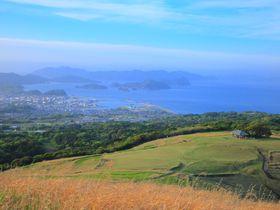 まるで阿蘇のよう!?五島列島・福江島のシンボル「鬼岳」の絶景