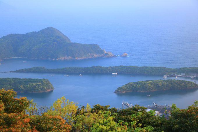 福江島ならではの風景が凝縮された「城岳展望台」