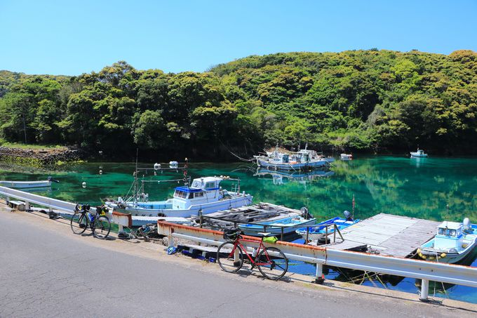 様々な海の色!潜在的な魅力に満ちた五島の自然