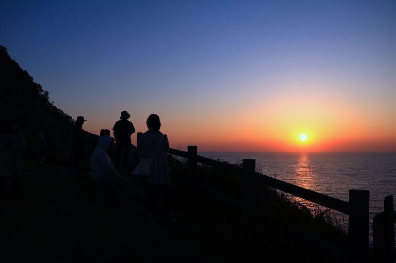 五島有数の夕景スポット!矢堅目公園で雄大な時間を感じよう