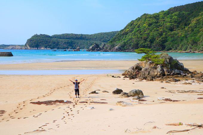 奇跡のビーチ!圧倒的な美しさを放つ福江島・西海岸