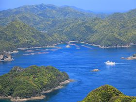 エメラルドの海や大展望!上五島「奈良尾港」周辺は絶景の宝庫