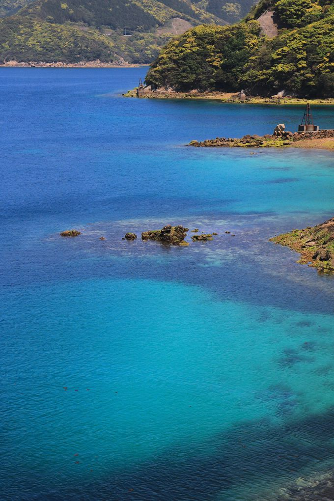 真っ青な大海原が広がる!県道169号線が魅せる五島の絶景