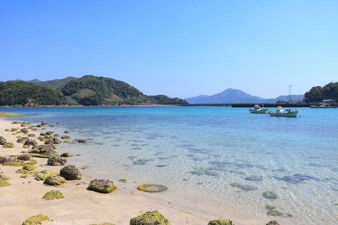 知られざる「日島」の絶景ビーチで心行くまで癒される時間