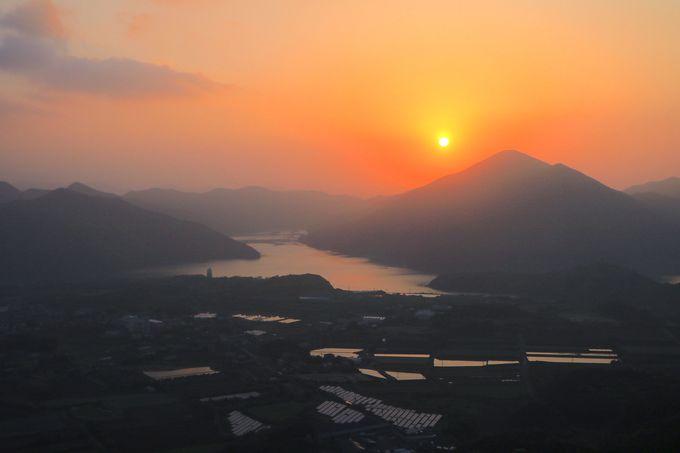 感動的な朝日!福江島「城岳展望台」で非日常な離島の朝を