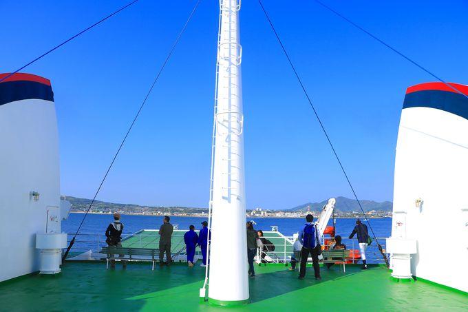 様々な島を巡りたい五島列島!下五島と上五島を結ぶ航路