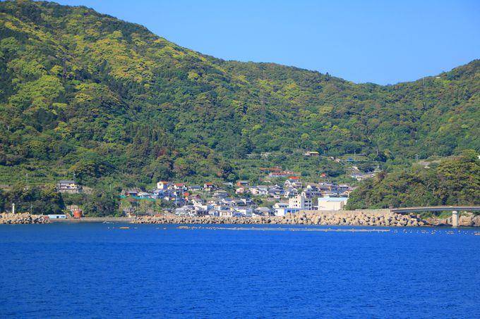 素晴らしい景色が醍醐味!福江島〜中通島の船旅