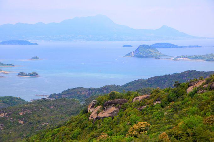 雲仙普賢岳の展望と大迫力の山塊!「太郎丸嶽」から見る絶景