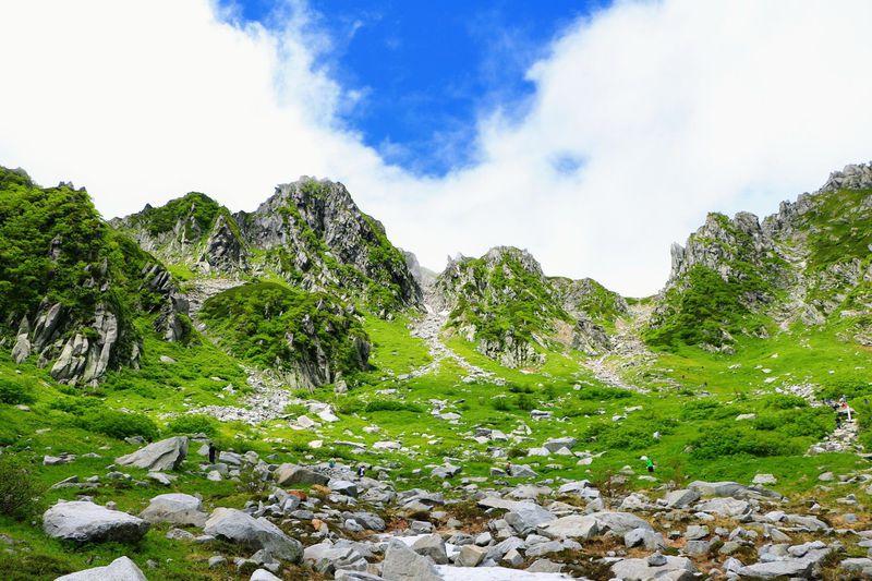 「千畳敷カール」は別世界!天国の涼しさと迫力ある地形美