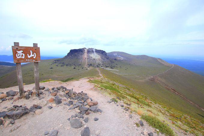 異観の溶岩ドームが目印!「樽前山」の山上世界