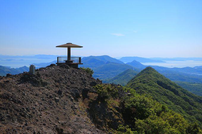 登れば登るほど絶景!山の島「小豆島」の展望台