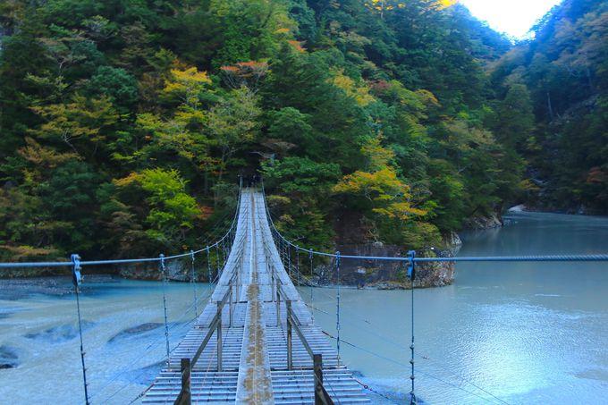 オクシズの顔・寸又峡「夢の吊り橋」はあくまで前座敷!
