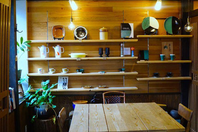 「芥川珈琲」も!ゲストハウスと調和した癒しのカフェ