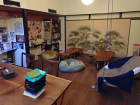 大阪のお洒落な飲み屋街!福島に佇む旧料亭「ゲストハウス由苑」