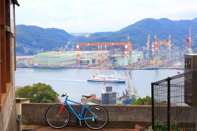 坂が多い町「長崎」 至る所で激坂に遭遇!