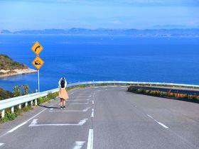 瀬戸内海屈指!香川県豊島「海へ飛び込む道」が凄い