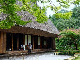 こんな場所に合掌造り!?愛知県「東山動植物園」で癒しの時間