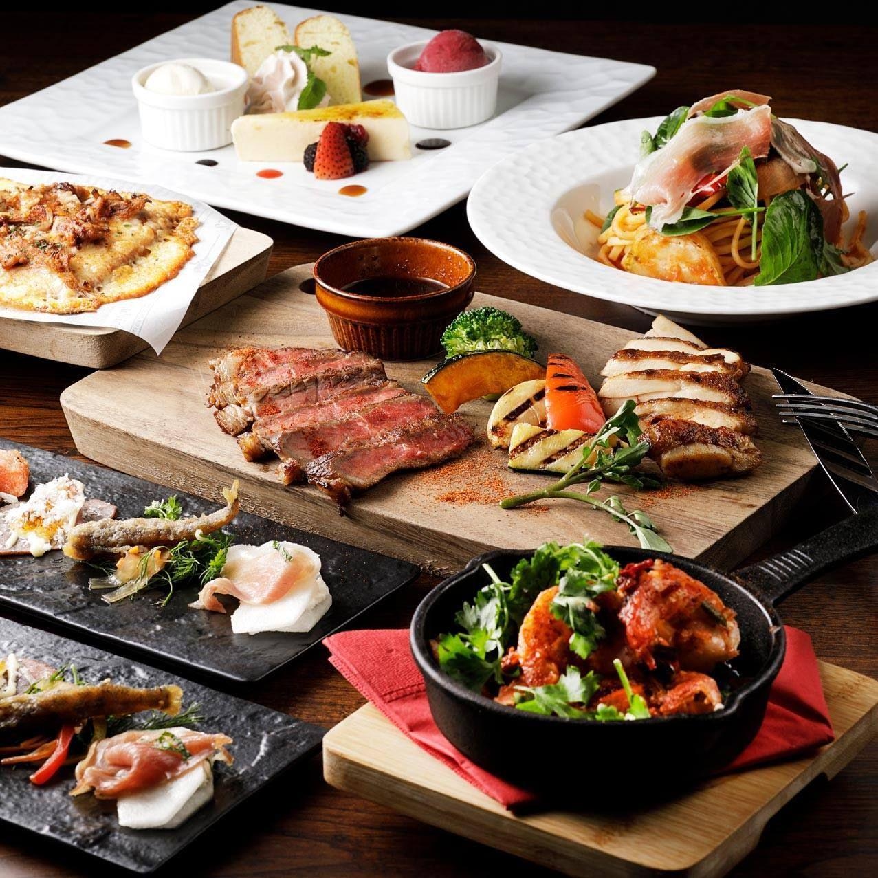 名古屋駅から徒歩1分という好立地が嬉しいビアレストラン!
