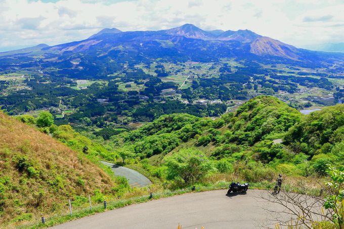 阿蘇五岳が目に飛び込んでくる!「俵山峠」の絶景