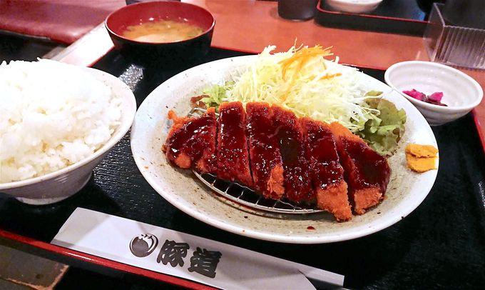 ジューシなお肉と濃厚味噌の競演!「豚道」味噌カツ