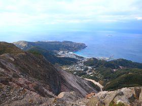 東京にある砂漠?神津島「天上山」洋上のアルプス縦走トレッキング
