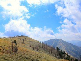 ロープウェイで四国第二の峰へ!徳島県「剣山」ハイキング