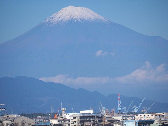 どこにいても富士山の山容が美しい「静岡」