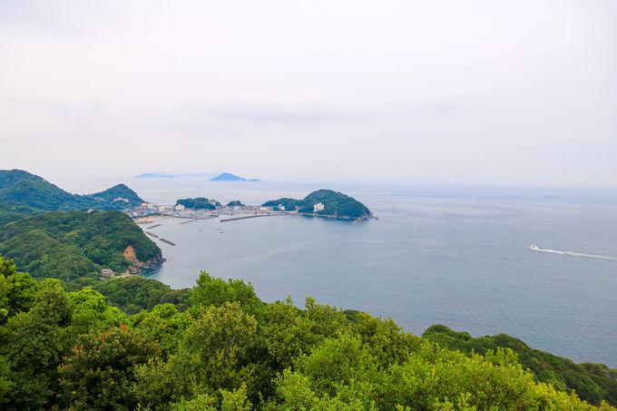 ブルー&レイフィールド!「答志島」の二つの絶景スポット
