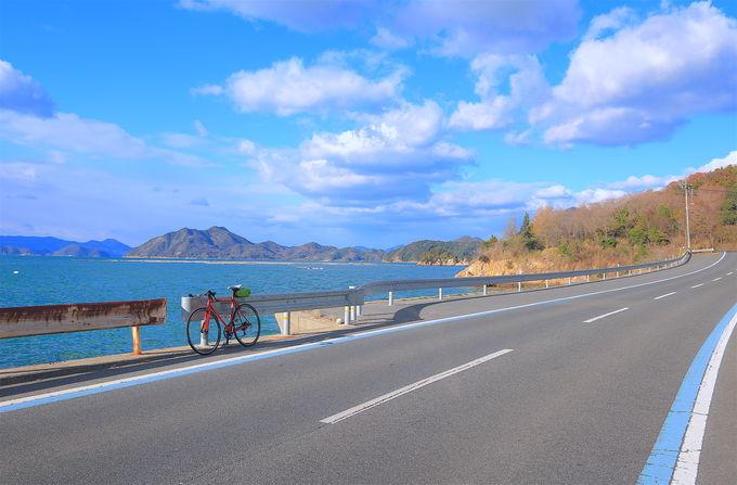 サイクリストの聖地・しまなみ海道の豊富なルートバリエーション