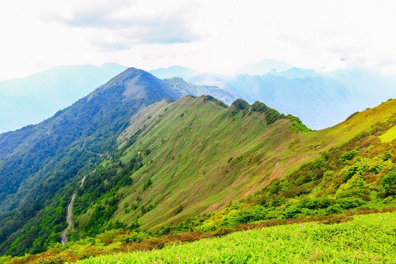 西日本最高所の道・UFOラインからお手軽登山!絶景の「伊予富士」