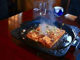 高山で愛されるB級グルメ!国八食堂の「鉄板焼き豆腐」