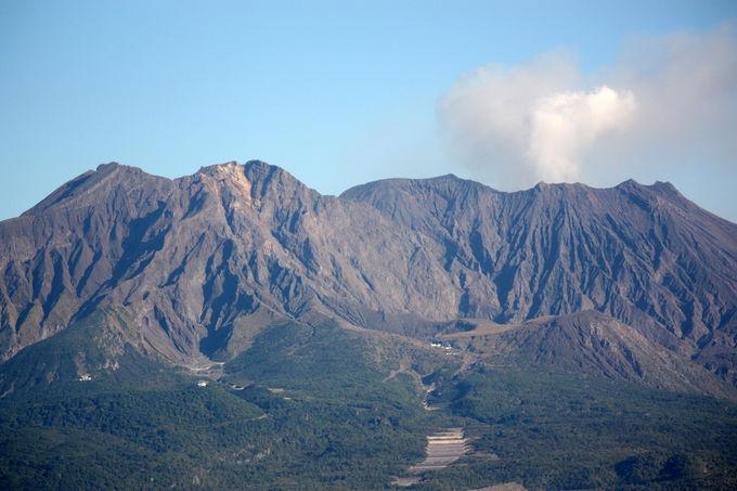 山容がとても美しい!鹿児島のシンボル「桜島」