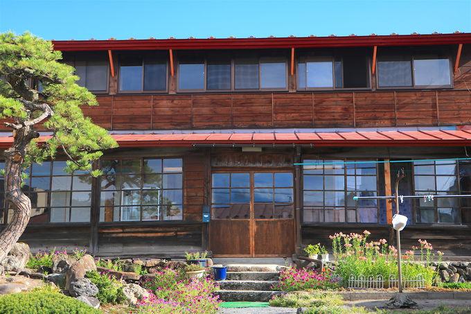 貴重な江戸時代の台所も!風情ある客舎建築と庭園